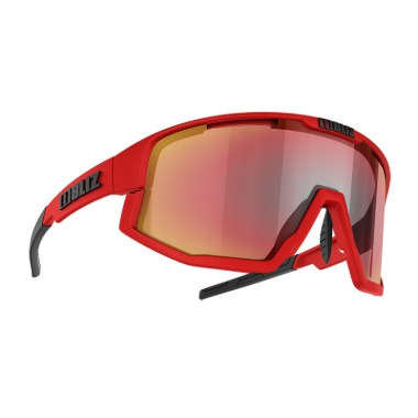 [S52101-44] Vision (Matt Red) - Brown w Red Multi [Size]