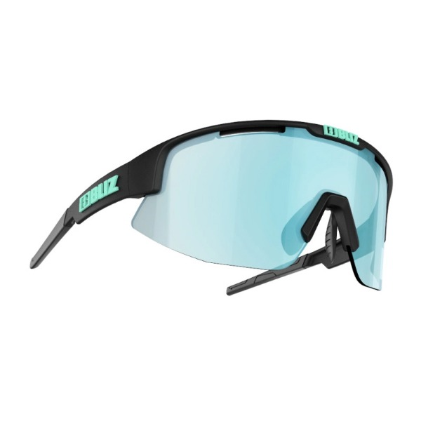 [52007-13] Matrix Small (Black) - Smoke w Ice Blue [EA]